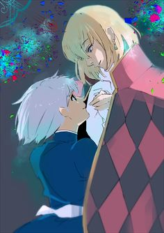 Howl's Moving Castle Fan Art by Ishida Sui