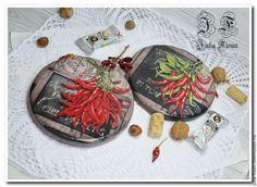 """Купить Сырные досочки """"Chili Peppers"""" - кухонный интерьер, кухонная утварь, кухонные принадлежности"""