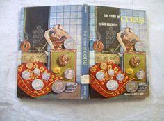 Vintage Book The Story Of Coins by VintagePlusCrafts on Etsy, $10.00