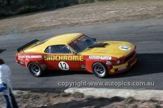 75074 - Jim Richards, Mustang - Lakeside 1975 - Photographer Martin Domeracki - AUTOPICS