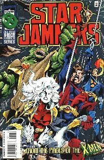 Starjammers (1995) 1 2 3 4 complete set ---> shipping is $0.01!!!