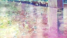 Most popular tags for this image include: rain, gif, color and water