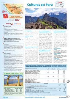 PERÚ Culturas, dto. desde 8%: +90 días, sal. 19/02 al 31/12 desde Madrid (9d/7n) desde 2.095€ ultimo minuto - http://zocotours.com/peru-culturas-dto-desde-8-90-dias-sal-1902-al-3112-desde-madrid-9d7n-desde-2-095e-ultimo-minuto/