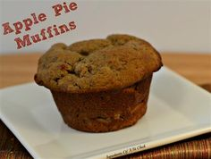 Apple Pie Muffins - The Kitchen Table - The Eat-Clean Diet®