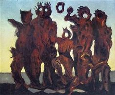 They have slept in the forest too long - Max Ernst