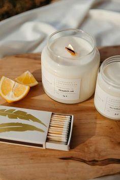 Lavender + Lemongrass – Rekindle Soy Wax Candles, Candle Wax, Bergamot, Lemon Grass, Fragrance Oil, Trees To Plant, Lavender, How To Make, Tree Planting