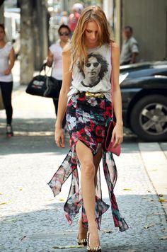 Isabella Scherer - Maxi Printed Skirt