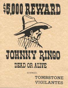 500 Reward Wanted Dead Or Alive Savage Indian Geronimo
