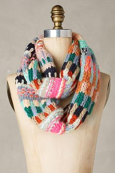 Color Cast Infinity Scarf | Anthropologie