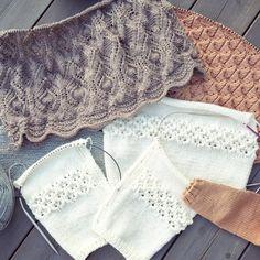 • Favourites •  #knitting_inspiration #houseofyarn_norway #cardiganmedhulmønster #faunajakke #paelas #blondekjole #knittingforolive #knitting #knittersofinstagram