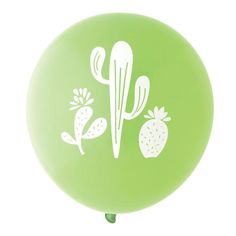 CACTUS LIME GREEN BALLOONS - Sold by Bonjour Fete - A party supply boutique. Check out our store for more inspiration and ideas!  Ships to all North America