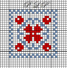 Mini Cross Stitch, Cross Stitch Heart, Cross Stitch Cards, Counted Cross Stitch Patterns, Cross Stitching, Cross Stitch Embroidery, Embroidery Patterns, Fair Isle Knitting Patterns, Crochet Chart