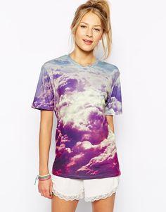 Mr. Gugu & Miss Go Cloud Print T-Shirtf rom Little Sale Birdy