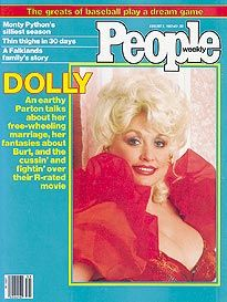 Cover People Magazine, Life Magazine, Thin Thighs, Viejo Hollywood, Monty Python, Dolly Parton, Magazine Covers, Magazines, Collections