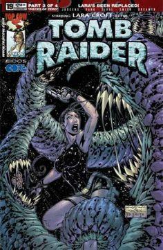 Tomb Raider Comic Book Cover Tomb Raider 19