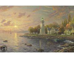 Serenity Cove by Thomas Kinkade