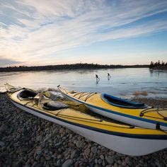 Photo:@mclain.david (David Mclain) // Taken with the @sonyalpha A7R with a 16-35mm f4 lens. I've always thought of Sea Kayaking as a winter sport born in the arctic and try to get out every year for a paddle in the dead of winter with my old friends @bikeskipaddle and @paddlelincoln To mix it up a little we decided to try and sea kayak to our own private pond hockey destination on the Maine coast.  The air temp was just above Zero degrees F and the water temp was about 37 degrees F when we…