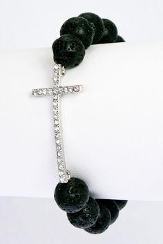 Bead Cross Bracelet  #UOIUrbanOutlet