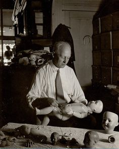 Doll doctor, ca. 1930