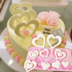 DIY 3D Heart Shape Chocolate Silicone Mold Bakeware Decorating Cake Cookie Icecream Cake Tools Chocolate Mould Decor Muffin Pan