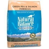 Natural Balance Limited Ingredient Diets Green Pea & Salmon Dry Cat Food 10 lb.