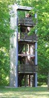 Observation tower.  Port Hudson state historic site.  BR