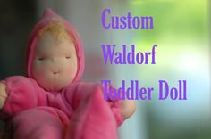 Squishy, warm, and gentle, a Waldorf-inspired doll is the perfect companion for your young child. Each doll wears a sleepy hand-stitched expression on
