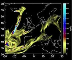 After two years since the eruption of the volcano Eyjafjallajökull in Iceland, which is on March 20, 2010, Eyjafjallajökull began emitting a cloud of dust heading towards the Northern and Central Europe on 14 April. Now scientists have managed to create models of natural phenomena.