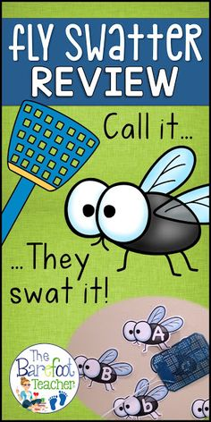 Looking for Back to School activities? This Fly Swatter Game is a fun and fast paced way to practice letter ID, sounds, numbers, color words, and high frequency words! Over 450 flies to print and use. This is a game that will grow with students as they le Back To School Activities, Phonics Activities, School Games, Alphabet Activities, Listening Activities, School Ideas, Kindergarten Readiness, Preschool Literacy, Kindergarten Classroom