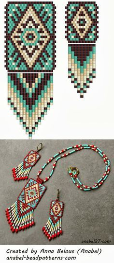 - Схемы для бисероплетения / Free bead patterns -