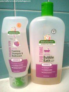 Review of Babyganics - still need to do more research, I have heard/read their products contain nasty ingredients....