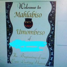 mahlabiso invitation - Google Search