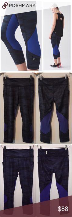 Selling this Lululemon Pace Rival Crop on Poshmark! My username is: lnation818. #shopmycloset #poshmark #fashion #shopping #style #forsale #lululemon athletica #Pants