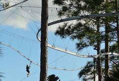 Zipline rollercoaster at Florida EcoSafaris in St. Cloud, FL.  Checked this off the list- took the family for an amazing & thrilling day of ziplining for my 44th birthday in July!