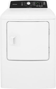 The 27 Front Load Dryer from Frigidaire will be the best addition to your place. The dryer features a spacious cu. capacity for your loads. Prevent clothes from wrinkling with the anti wrinkle option. Wrinkle Release, Stainless Steel Drum, Laundry Dryer, Gas Dryer, Home Repairs, Credit Card Offers, Anti Wrinkle, Electric Dryer