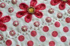 Love this, on dotty fabric Harujion Design