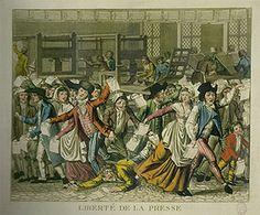 La liberté de la presse en 1789 par Mathias, Matthieu & Delphine
