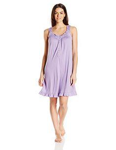 Ladies Womens Long Viscose Jersey Nightdress Short Sleeve By Marlon Size S M L