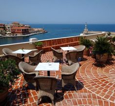 For one of those perfect views of Chania's Venetian harbour - take a room with a view or wander up to the rooftop terrace with panoramic view of Chania ... our Pandora Suites!  http://www.crete-hotels-rooms.com/Reservations/Pandora_Suites.htm