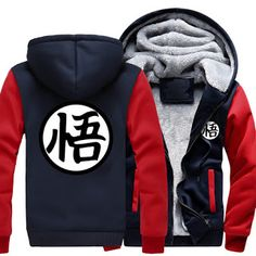 New Winter Jackets and Coats Dragon Ball Z hoodie Anime Son Goku Hooded Thick Zipper Men cardigan Sweatshirts (32746458531)  SEE MORE  #SuperDeals