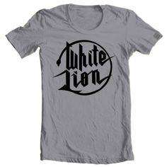 White-Lion-logo-T-shirt-80s-hair-metal-retro-glam-rock-concert-graphic-tee