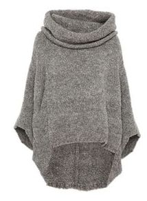 Put 'it': the poncho - Poncho - Sweaters Poncho Sweater, Knitted Poncho, Mode Outfits, Fall Outfits, Pulls, Autumn Winter Fashion, Knitwear, What To Wear, Style Me