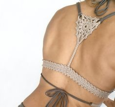 This listing is PDF CROCHET PATTERN for Aliyah Bikini Top, Not finished item:)   Skill level: EASY, INTERMEDIATE You should know the basic stiches: chain stitch, single crochet, slip stitch, double crochet. All the other sticthes used in the pattern are explained.  This pattern is written in standa
