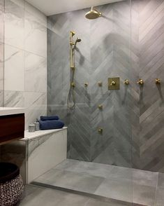 Interior Design & Hospitality Design Industry-Tips - Badezimmer ♡ Wohnklamotte - Bathroom Decor Bad Inspiration, Bathroom Inspiration, Dream Bathrooms, Small Bathroom, Bathroom Ideas, Bathroom Organization, Bathroom Showers, Beautiful Bathrooms, Bathroom Storage