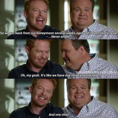"""#ModernFamily 6x01 """"The Long Honeymoon"""" - Mitchell and Cam"""