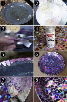 Поделки из дисков своими руками идеи и мастер-классы