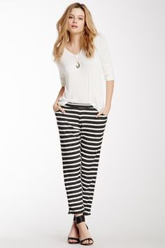 Tammie Stripe Pant | Lime & Vine from Haute Look  www.limeandvine.com