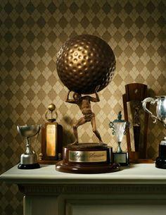 Hugh Kretschmer, Golf Trophy ©