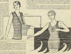 Badetrikot 1932 | flappersparadise
