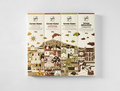 Sabadì – I Torroni — The Dieline - Branding & Packaging Design Honey Packaging, Cool Packaging, Chocolate Packaging, Luxury Packaging, Bottle Packaging, Brand Packaging, Innovative Packaging, Product Packaging, Packaging Design Inspiration